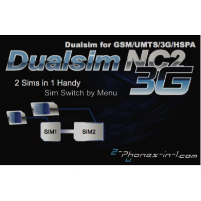 DUAL SIM ADAPTER NC2 N8 Samsung Galaxy Note 8