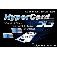 Hypercard 3G Digital Dual Sim Adapter 3G..