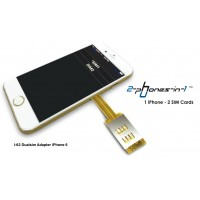 Dual Sim Adapter iPhone 6 u. iPhone 6 Plus I-62