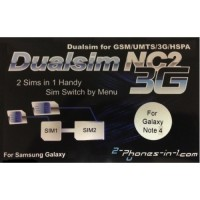 NC2 N4 Dualsim Adapter Samsung Galaxy Note 4