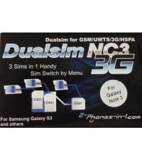NC3 N3 Triple Sim Adapter Samsung Galaxy Note 3