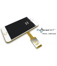 Dual Sim Adapter iPhone 7 Plus I-72P