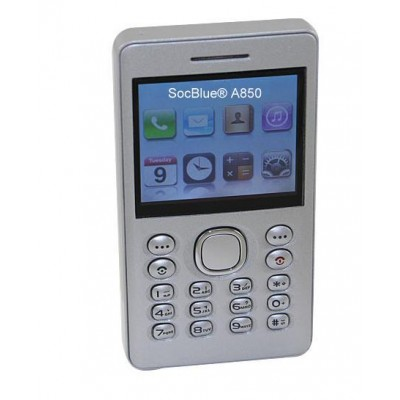 SocBlue A850 aktiver Dual Sim Adapter Android und Mini Quadband Handy  in einem
